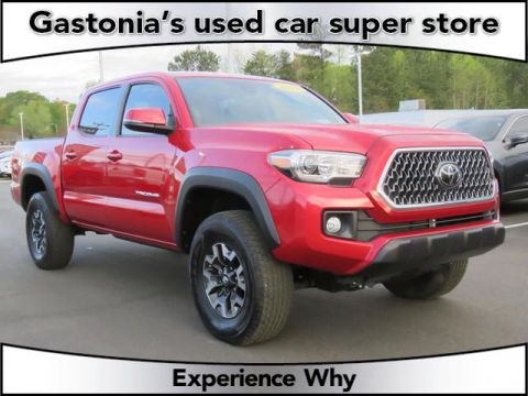 Pre-Owned 2018 Toyota Tacoma 4D Double Cab 4WD