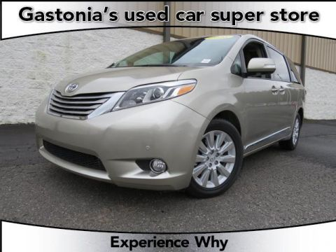 Certified Pre-Owned 2015 Toyota Sienna Ltd AWD